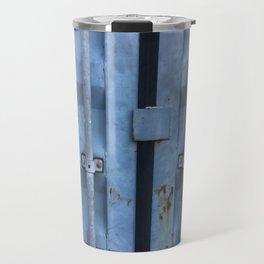 Shipping Container Doors Travel Mug
