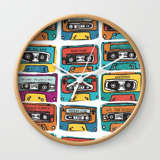 MIXTAPE - ANALOG zine Wall Clock