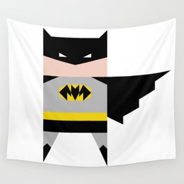 simpleheroes BAT-MAN fan art Wall Tapestry