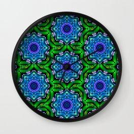 earth kaleidoscope Wall Clock