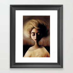 Sleepin' Framed Art Print