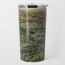 Vintage Nashville Centennial Park Map (1897) Travel Mug