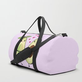 Cute avocados in love Duffle Bag