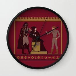 starwarglyphics. Wall Clock