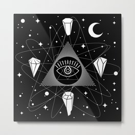 Space Crystals & Secrets of the Universe Metal Print