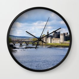 King John's Castle Wall Clock