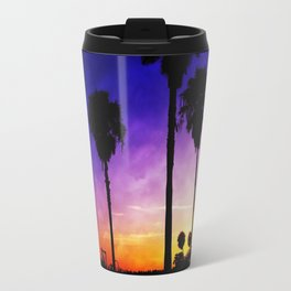 Purple Sunset Travel Mug