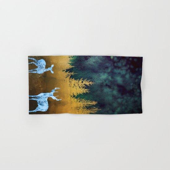 Midnight Meeting Hand & Bath Towel