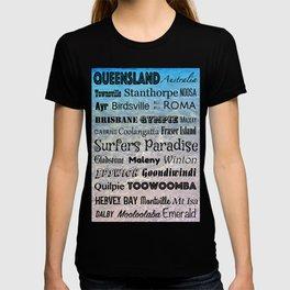 Queensland Poster T-shirt