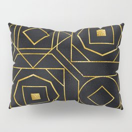 Chic Art Deco: Sophisticated Flirtation While Sipping Cognac Pillow Sham