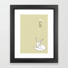 LE PETIT PRINCE -THE LITTLE PRINCE- poster Framed Art Print