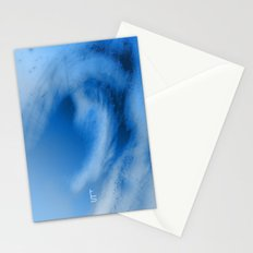 Blue Whirl I Stationery Cards