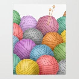 So Much Yarn Poster