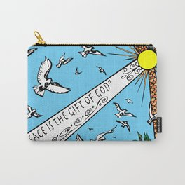 Peace is the Gift of God Carry-All Pouch