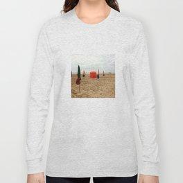 Plage de Deauville... Long Sleeve T-shirt