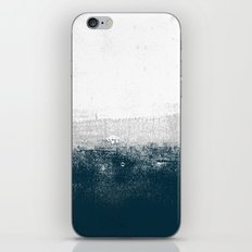 Ocean No. 1 - Minimal ocean sea ombre design  iPhone & iPod Skin