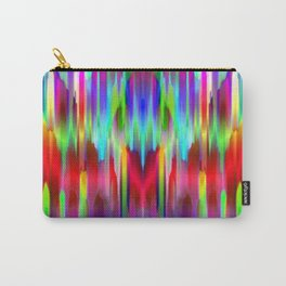 Colorful digital art splashing G487 Carry-All Pouch
