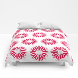 Poppy Modern Sunbursts Comforters