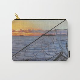 To Swim with Dolphins Carry-All Pouch