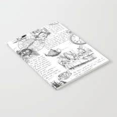 Alice in Wonderland - Pages Notebook