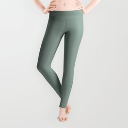 Valspar America Sea Green / Green Water / Zinc Blue Colors of the year 2019 Leggings