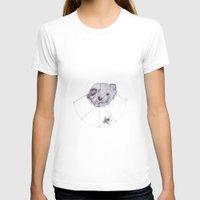 ferret T-shirts featuring Ferret skull by Inez Gulyas