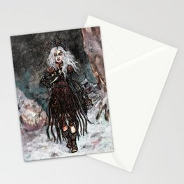 Nothern combat witch Stationery Cards