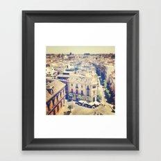 New Favorite City Framed Art Print