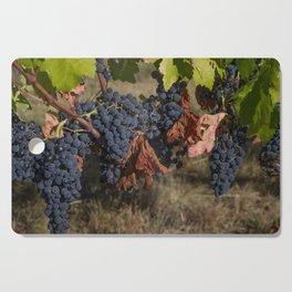 Vineyard Grape Clusters Cutting Board