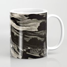 Classical Masterpiece 'Letter from Overseas' by Thomas Hart Benton Coffee Mug