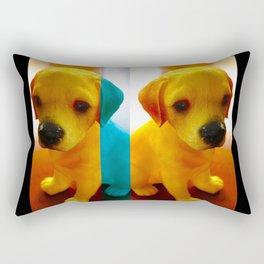 Pup Blues Rectangular Pillow