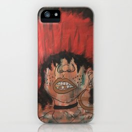 Grills and Afros iPhone Case