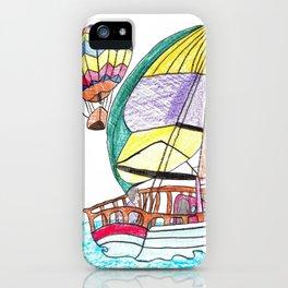 Hot Air Sailing iPhone Case