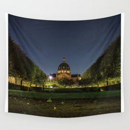 Clear Night Wall Tapestry