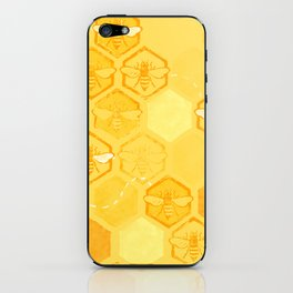 Dance of Bees iPhone Skin