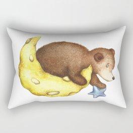 Teddy Bear Stars Rectangular Pillow