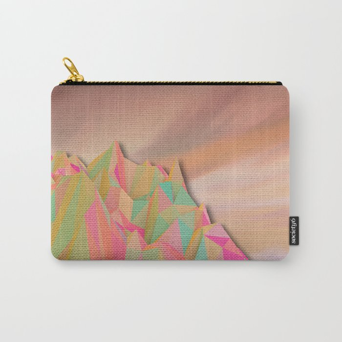 Night Mountains No. 22 Carry-All Pouch