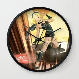 Gravity Rush Fan Art Wall Clock