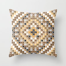 Carpet VI Modified Throw Pillow