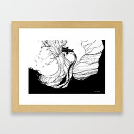 set up Framed Art Print