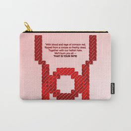 Red Lantern Symbol & Oath Carry-All Pouch