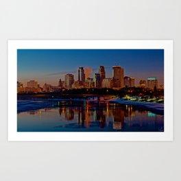Morning Skyline Art Print