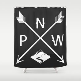 Pacific North West, Seattle Washington Shower Curtain
