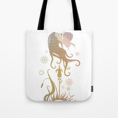 Blinded by selfishness Tote Bag
