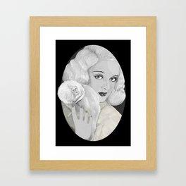 Mrs. Coulter. Framed Art Print