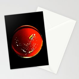 ABSTRACT SCIENCE ART - Nocardia Culture in Chocolate agar (CHOC) Stationery Cards