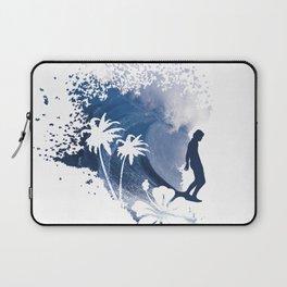 The Longboard Surfer Laptop Sleeve
