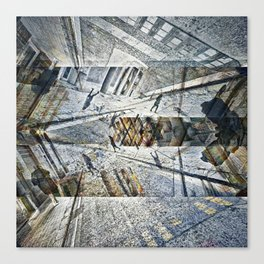 where wonder wound up understandably unhinged pt.1 Canvas Print