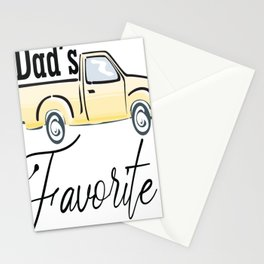 Dad Favorite Stationery Cards