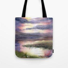 Intense Sky Tote Bag